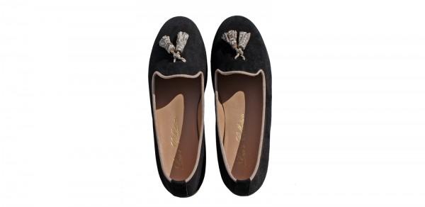 Slippers Laco's Collection - Fricci Nero