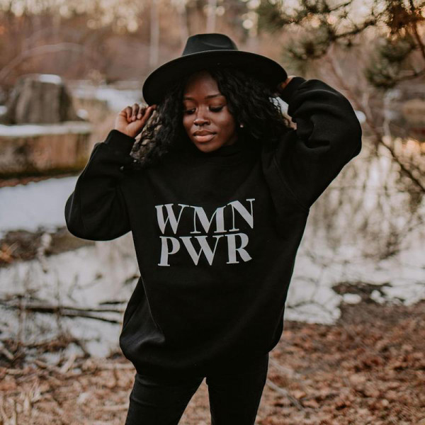 Bits & Bobs - Women Power Sweater Schwarz