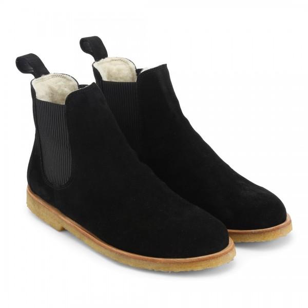 Angulus - Chelsea Boots gefüttert Schwarz