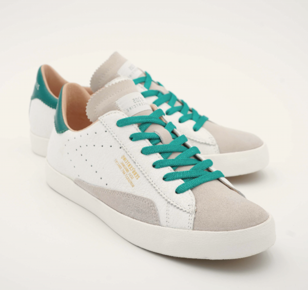 Sneakers 0-105 White-Green