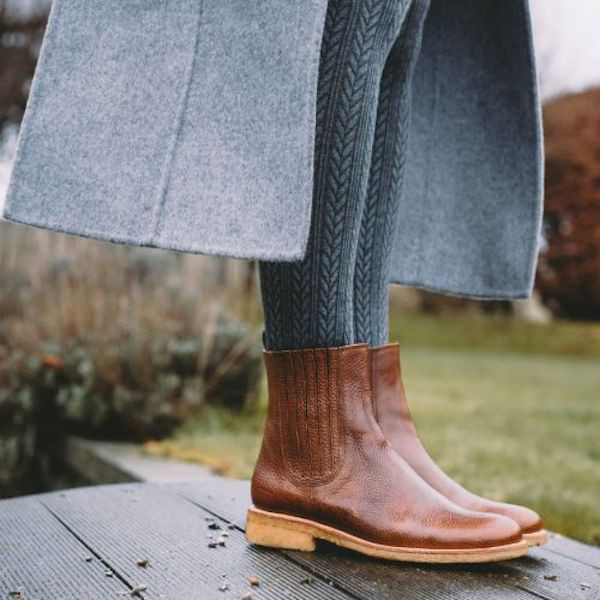 Angulus Chelsea Boots Elastic Braun 4