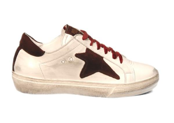 Sneakers Piranha Bordeaux