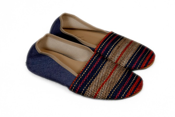 Anniel - Slipper Multicolor Jeans
