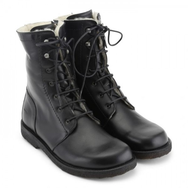 Angulus - Lace up Boots Black