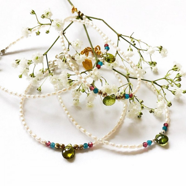 Atelier Coquet - Armband Mariposa Silber