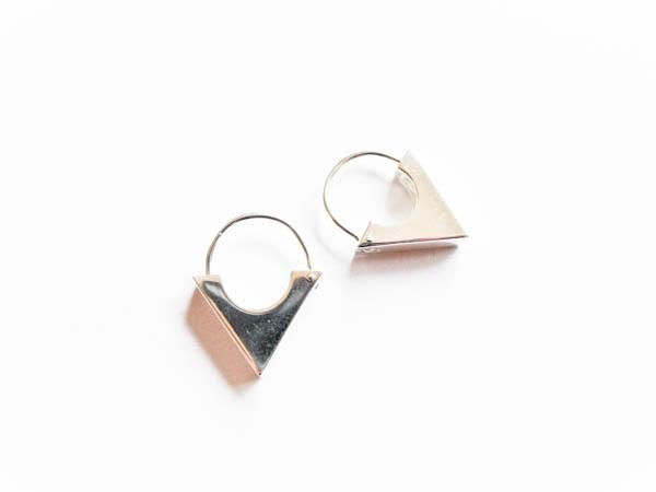 Atelier Coquet - Creole Triangel Silber
