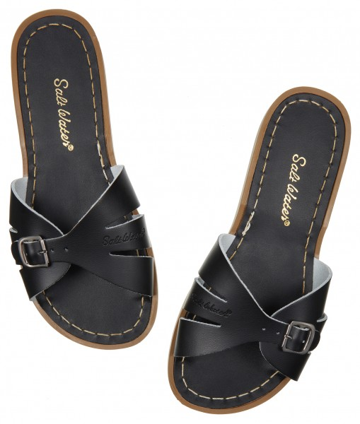 Salt Water Classic Slides Black