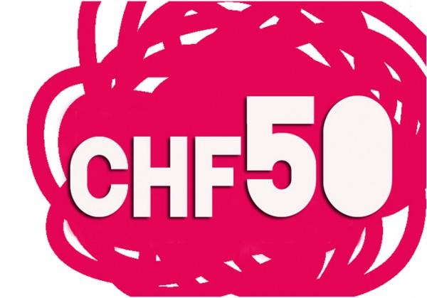 Geschenkgutschein CHF 50.00