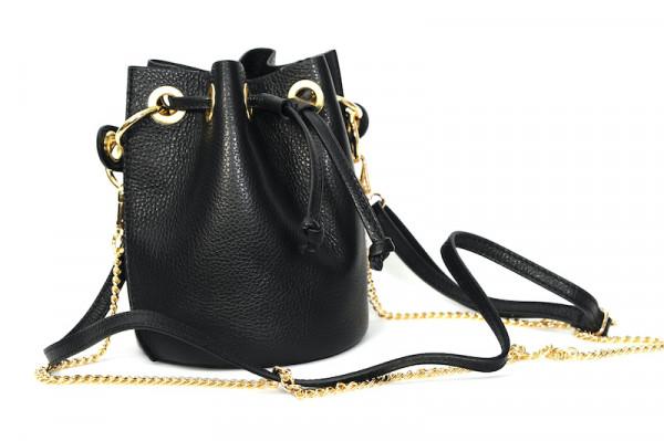 Prima Ballerina - Julie Bucket Bag Black