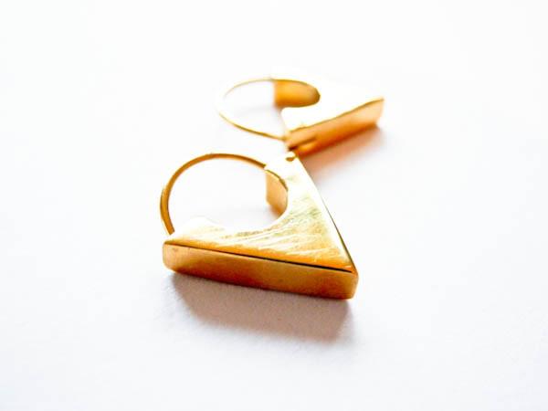 Atelier Coquet - Creole Triangel Gold
