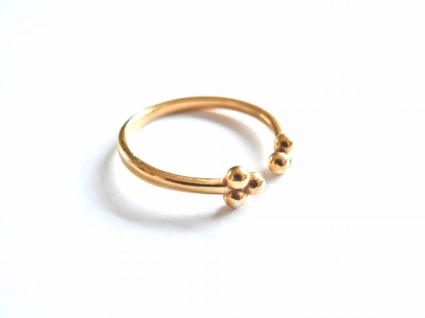 Atelier Coquet - Ring Pompon Gold