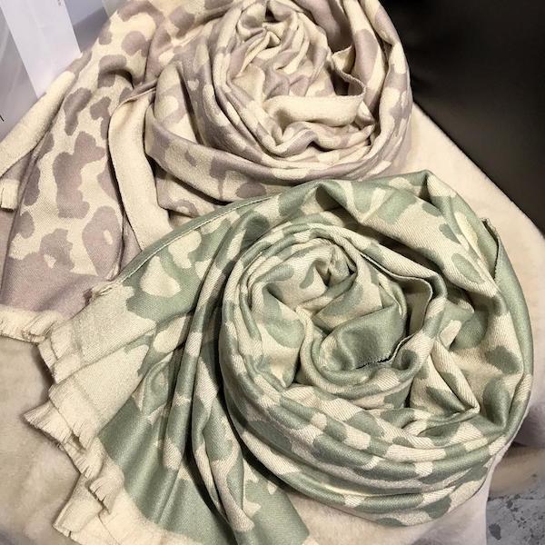 Schal Bits & Bobs Farbe Grün