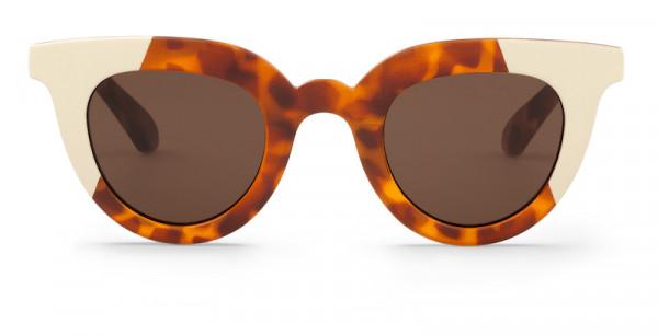 Mr. Boho Sunglasses Heyes Leo Cream