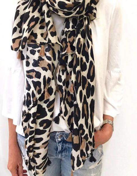 Bits & Bobs - Schal Leopard