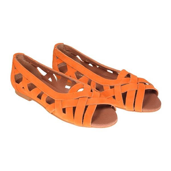 La Garçonne Schuhe Orange
