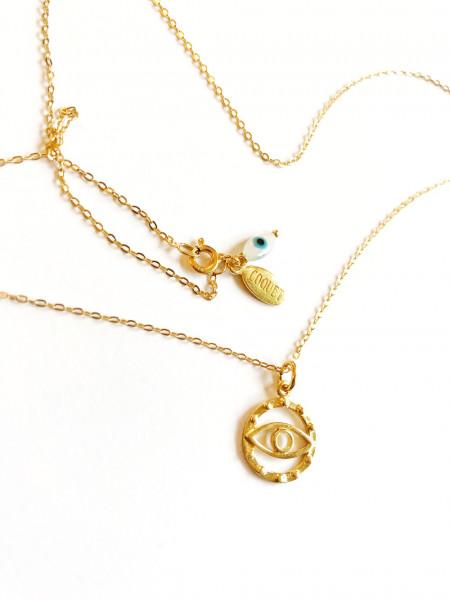 Atelier Coquet - Kette Double Yeux Gold