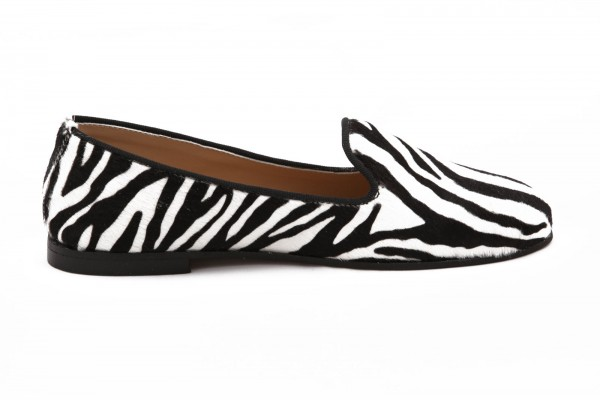 Slippers Laco's Collection - Zebra Gr. 35