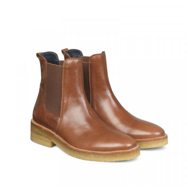 Angulus Chelsea Boots Classic Braun