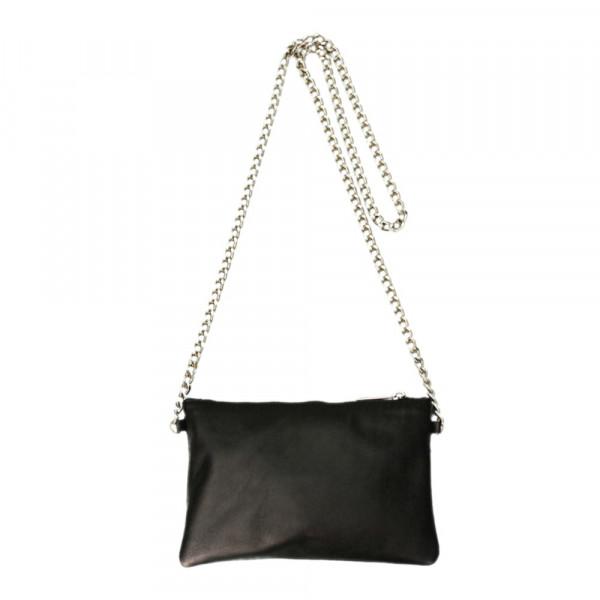 Minibag Schwarz mit Kette