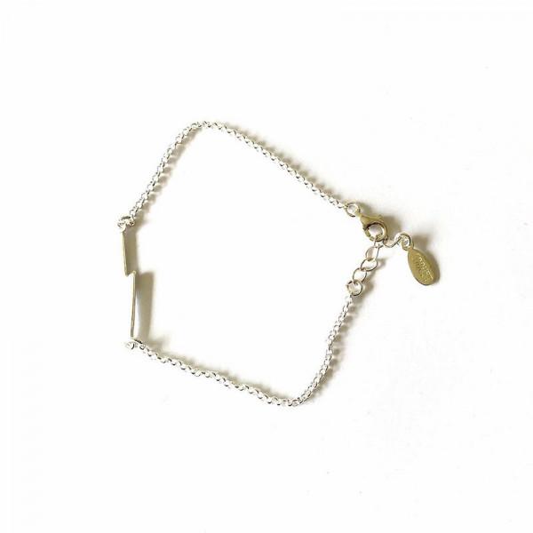 Atelier Coquet - Armband Fulmini Silber