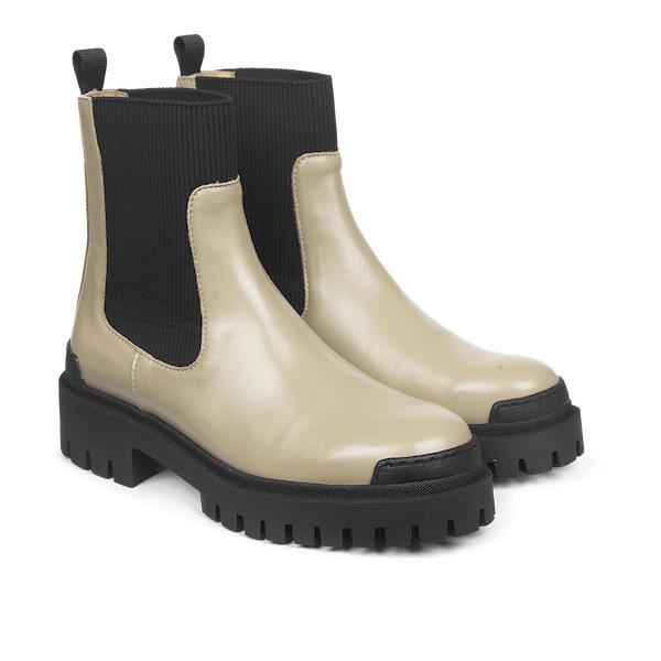 Angulus Boots Elastic Beige 2