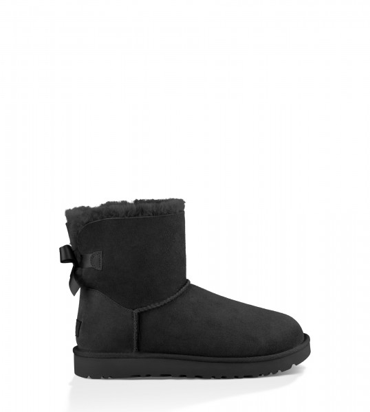 UGG Mini Bailey Bow Black 1