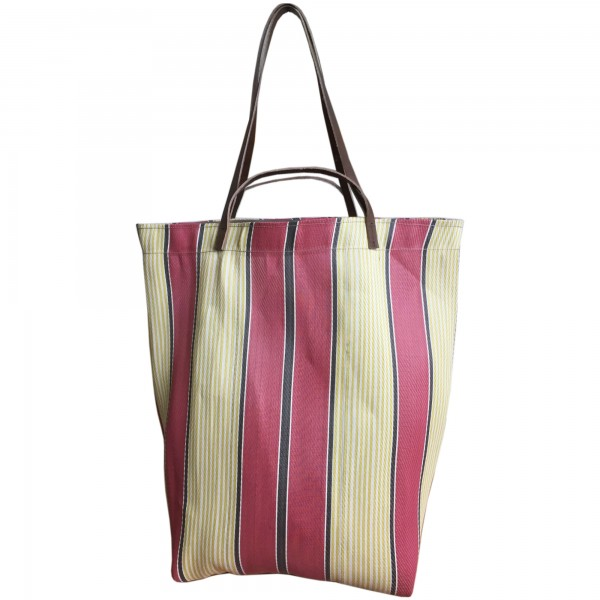 Spencer Devine Assam Market Bag Red