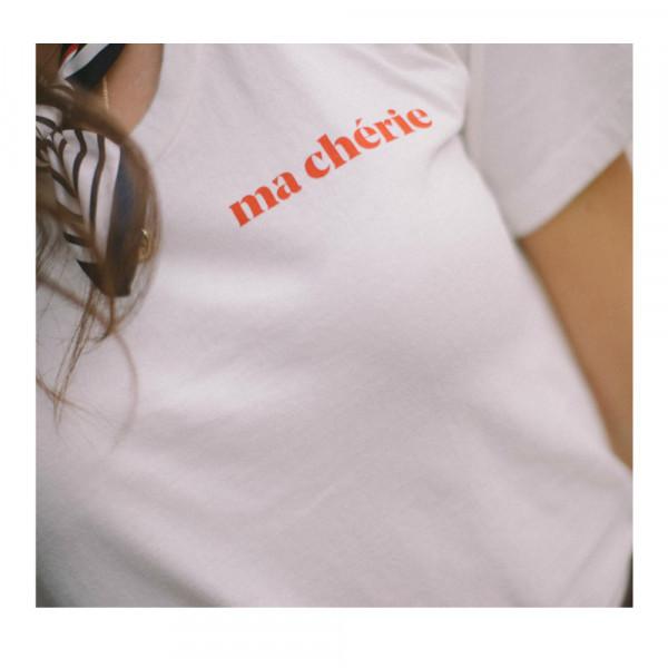 """Le mot - T-Shirt """"ma chèrie"""""""