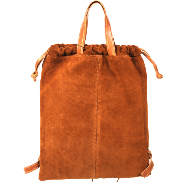 Tote bag / backpack Cognac