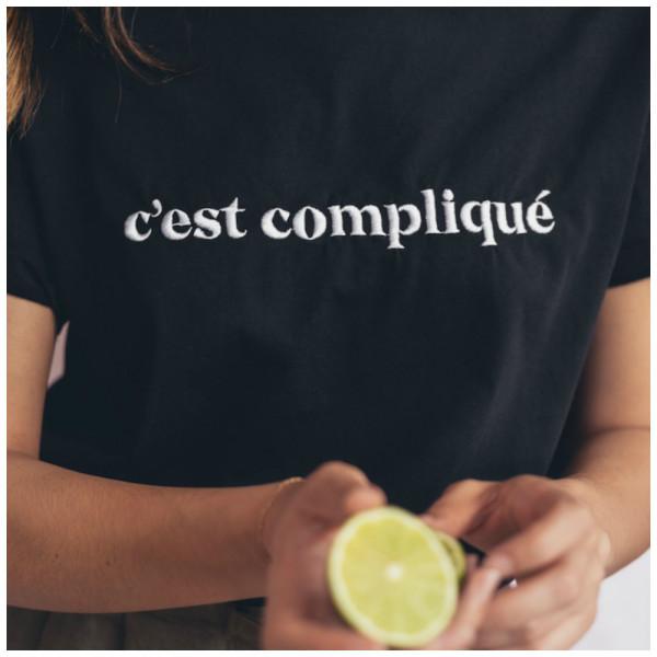 """Le mot - T-Shirt """"c'est complique"""""""