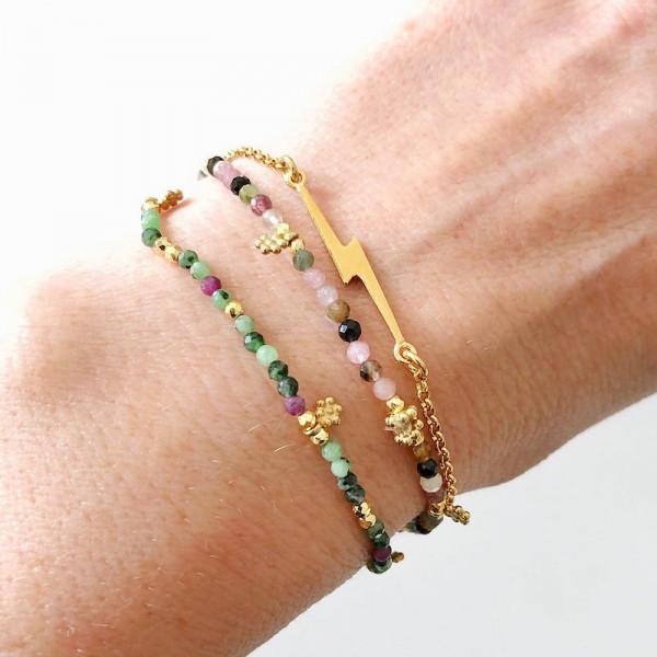 Atelier Coquet - Armband Fulmini Vergoldet