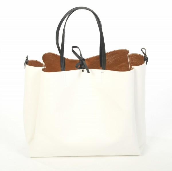 Tote Bag Maxi - white/rosé
