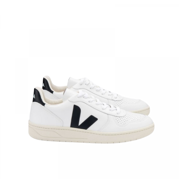 Veja - V-10 Leather Extra White Black