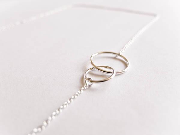 Atelier Coquet - Kette verbunden mit dir Silber
