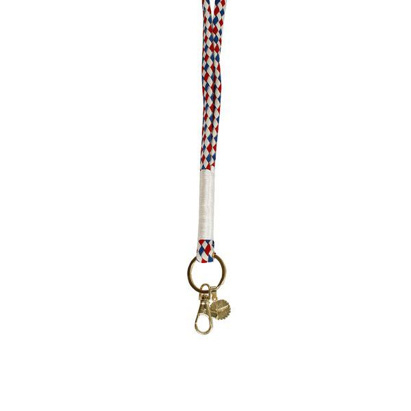 La Garconne Keychain Offwhite Red 2