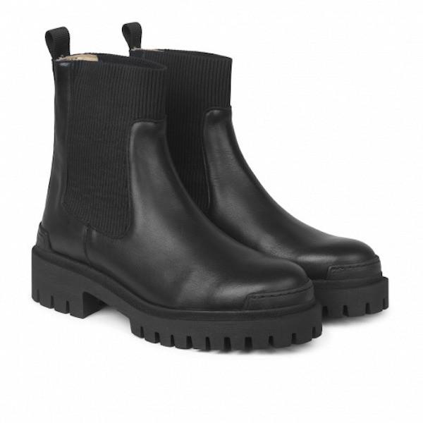 Angulus Elastic Boots Schwarz 3