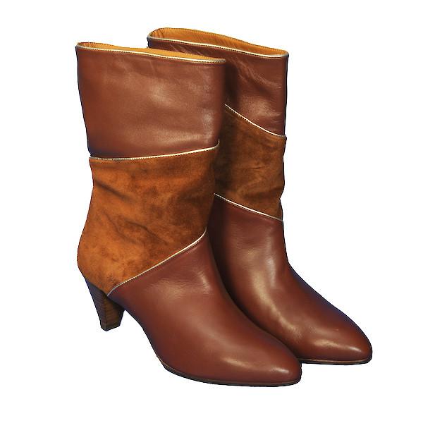 Les Venues Trixie Boots Camel