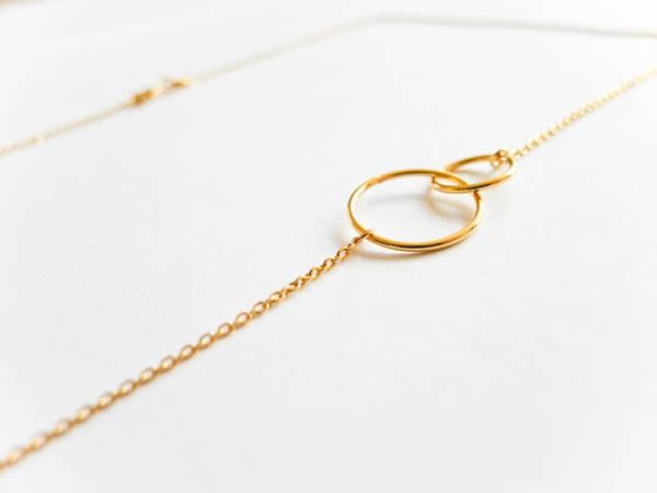 """Atelier Coquet - Kette """"verbunden mit dir"""" gold"""