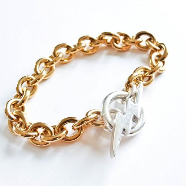 Atelier Coquet - Armband Foudre Silber Vergoldet
