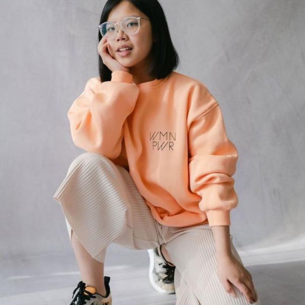 Bits & Bobs - Women Power Sweater Lachs
